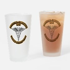 Navy - Rate - HM Drinking Glass