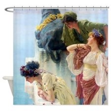 A Coign of Vantage Shower Curtain