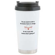 Doctor-Nurse Travel Mug
