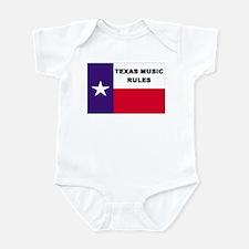 Texas Music Infant Creeper