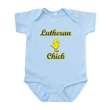 Lutheran Chick Infant Bodysuit