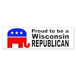 Wisconsin Republican Pride Sticker (Bumper 50 pk)
