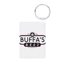 Buffa's Logo Keychains