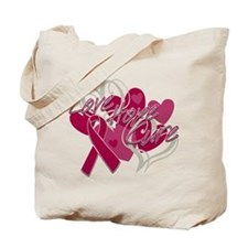 Sickle Cell Anemia Love Hope Cure Tote Bag