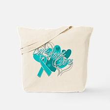 Scleroderma Love Hope Cure Tote Bag