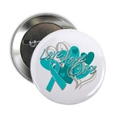 "Scleroderma Love Hope Cure 2.25"" Button"