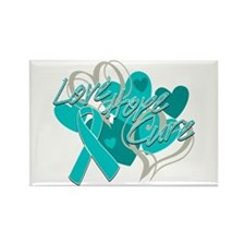 Scleroderma Love Hope Cure Rectangle Magnet