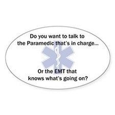 Paramedic-EMT Decal