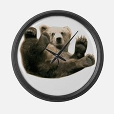 Brown Bottom Bear Cub Playful Fuzzy Wuzzy Large Wa