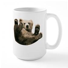 Brown Bottom Bear Cub Playful Fuzzy Wuzzy Mug