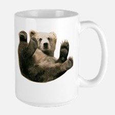 Brown Bottom Bear Cub Playful Fuzzy Wuzzy Mug