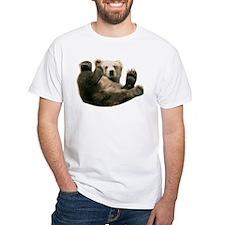 Brown Bottom Bear Cub Playful Fuzzy Wuzzy Shirt