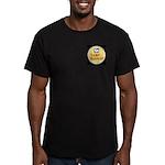 Camp BADRAP Men's Fitted T-Shirt (dark)