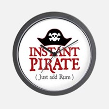 Instant Pirate - Wall Clock