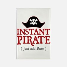 Instant Pirate - Rectangle Magnet
