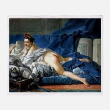 Francois Boucher Odalisque Throw Blanket