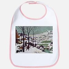 Pieter Bruegel Hunters in the Snow Bib