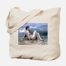 William-Adolphe Bouguereau The Wave Tote Bag