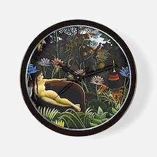 Henri Rousseau The Dream Wall Clock