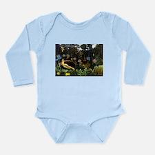 Henri Rousseau The Dream Long Sleeve Infant Bodysu