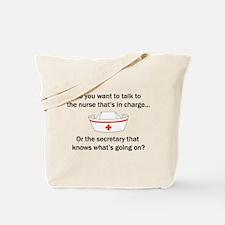 Nurse-Secretary Tote Bag
