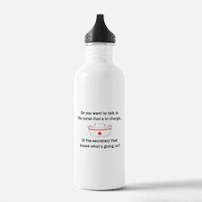 Nurse-Secretary Water Bottle