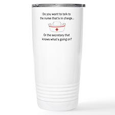 Nurse-Secretary Travel Mug