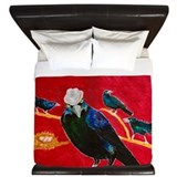 Grackle King Duvet Covers