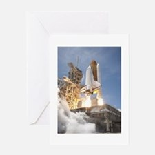 Atlantis Launch STS 132 Greeting Card
