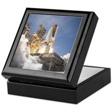 Atlantis Launch STS 132 Keepsake Box