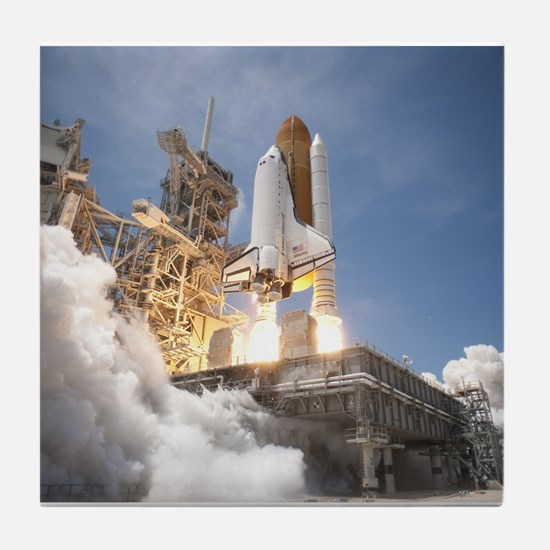 Atlantis Launch STS 132 Tile Coaster
