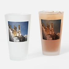 Atlantis Launch STS 132 Drinking Glass