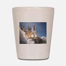 Atlantis Launch STS 132 Shot Glass