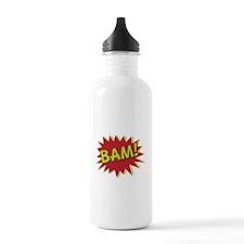 Comic Book BAM! Water Bottle