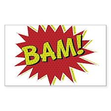 Comic Book BAM! Decal