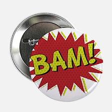 """Comic Book BAM! 2.25"""" Button"""