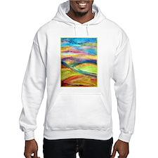 Landscape! Colorful art! Hoodie Sweatshirt