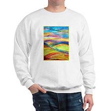 Landscape! Colorful art! Sweatshirt