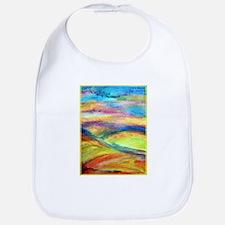 Landscape! Colorful art! Bib