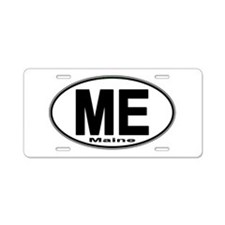 Cute Newport, euro Aluminum License Plate