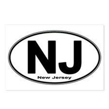 Cute Nj Postcards (Package of 8)