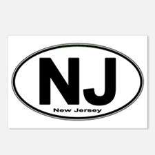 Funny New jersey Postcards (Package of 8)