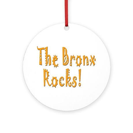 The Bronx Rocks! Ornament (Round)