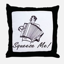 """Squeeze Me"" Accordion Throw Pillow"