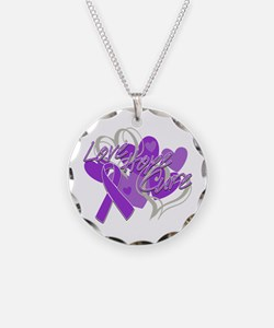 Sarcoidosis Love Hope Cure Necklace