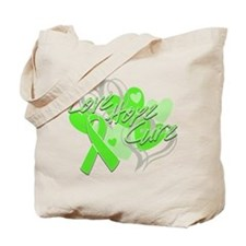 Lymphoma Love Hope Cure Tote Bag