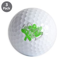 Lymphoma Love Hope Cure Golf Ball