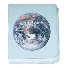 Earth - Big Blue Marble baby blanket