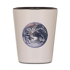 Earth - Big Blue Marble Shot Glass