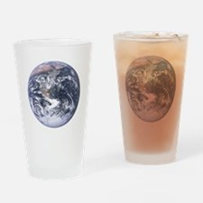 Earth - Big Blue Marble Drinking Glass